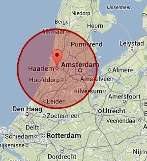 werkgebied Haarlem